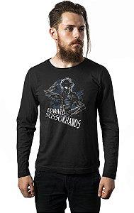 Camiseta Manga Longa Edward - Mãos de teseuro