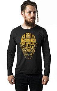 Camiseta Manga Longa Breaking Bad - Heisenberg