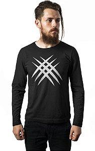 Camiseta Manga Longa Wolverine