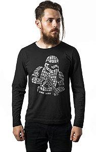 Camiseta Manga Longa Stormtrooper Imperio