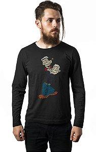 Camiseta Manga Longa Popeye