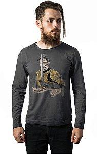 Camiseta Manga Longa Seu Madruga - Guerreiro