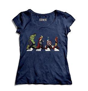 Camiseta Feminina Vingadores