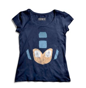 Camiseta Feminina Mega Man - Nerd e Geek - Presentes Criativos