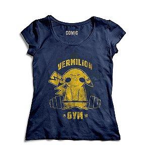 Camiseta Feminina Pikachu - Nerd e Geek - Presentes Criativos