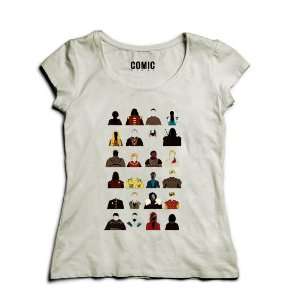 Camiseta Feminina Game Of Thrones - Nerd e Geek - Presentes Criativos