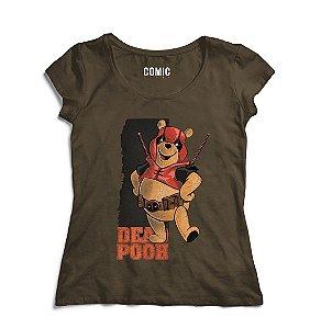 Camiseta Feminina Ursinho Pooh