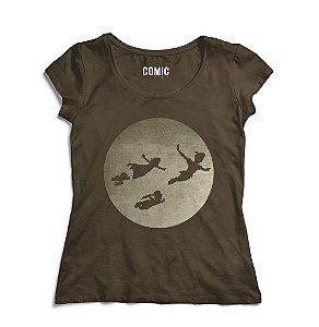 Camiseta Feminina Peter Pan