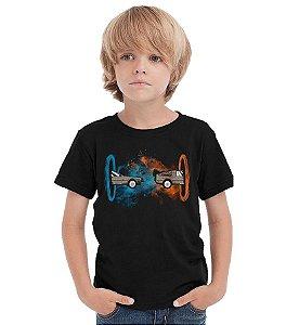 Camiseta Infantil De volta para o futuro - Nerd e Geek - Presentes Criativos
