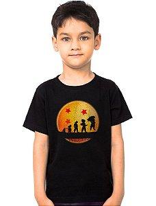 Camiseta Infantil Dragon Ball - Evolution