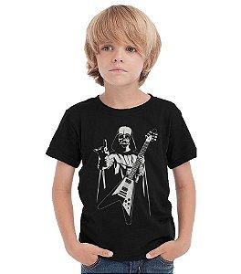 Camiseta Infantil Star Wars Rock Roll