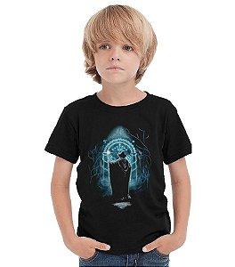 Camiseta Infantil Senhor dos Aneis - Nerd e Geek - Presentes Criativos