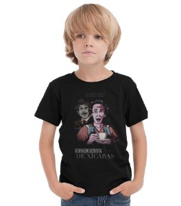 Camiseta Infantil Chaves - Don Florinda - Nerd e Geek - Presentes Criativos
