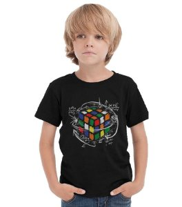 Camiseta Infantil Cubo Magico - Nerd e Geek - Presentes Criativos