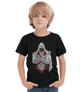 Camiseta Infantil Assassin's Creed - Nerd e Geek - Presentes Criativos