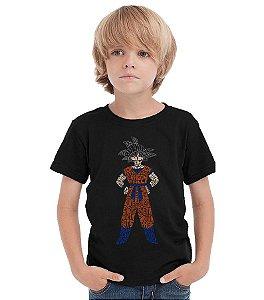 Camiseta Infantil Goku - Nerd e Geek - Presentes Criativos