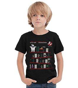 Camiseta Infantil Caças Fantasmas  - Nerd e Geek - Presentes Criativos