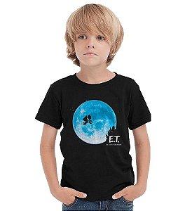 Camiseta Infantil E.T Extraterrestre  - Nerd e Geek - Presentes Criativos