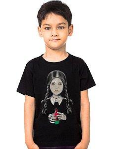 Camiseta Infantil Familia Addams - Nerd e Geek - Presentes Criativos