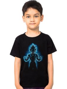 Camiseta Infantil Dragon Ball Z - Nerd e Geek - Presentes Criativos