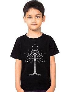 Camiseta Infantil O senhor dos Aneis - Nerd e Geek - Presentes Criativos