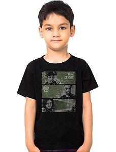 Camiseta Infantil Heiseberg e Jon - Nerd e Geek - Presentes Criativos