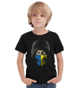 Camiseta Infantil Scorpion - Nerd e Geek - Presentes Criativos