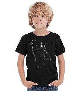 Camiseta Infantil Pantera Negra