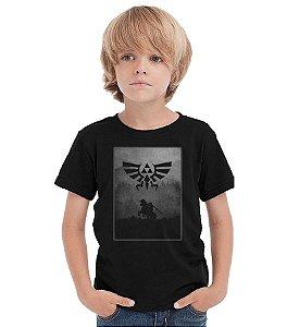 Camiseta Infantil Zelda - Nerd e Geek - Presentes Criativos