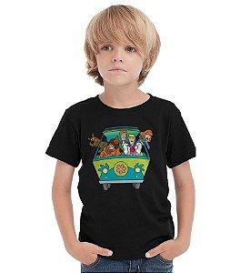Camiseta Infantil Scooby Doo - Nerd e Geek - Presentes Criativos