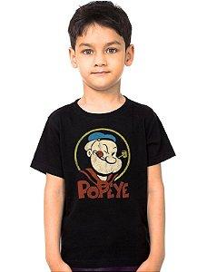 Camiseta Infantil Popeye - Nerd e Geek - Presentes Criativos