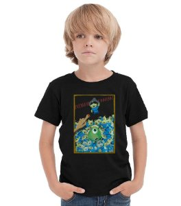 Camiseta Infantil Monstro S.A