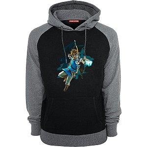 Blusa com Capuz Legend of Zelda Breath of The Wild