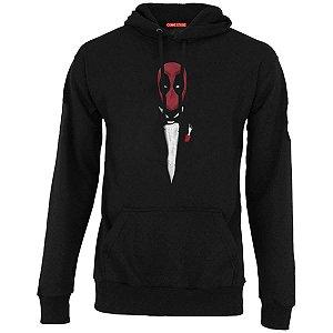 Blusa com Capuz Deadpool - O Poderoso