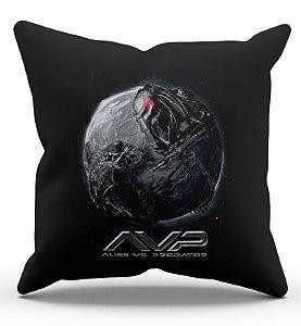 Almofada Decorativa  Alien vs Predador 45x45 - Nerd e Geek - Presentes Criativos
