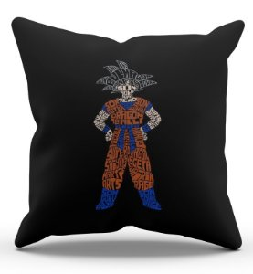 Almofada Decorativa  Dragon Ball Z 45x45 - Nerd e Geek - Presentes Criativos