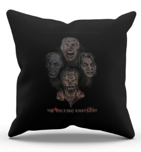 Almofada Decorativa  The Walking Dead 45x45 - Nerd e Geek - Presentes Criativos