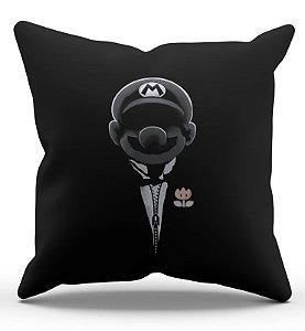 Almofada Decorativa  Super Mario O Poderoso 45x45 - Nerd e Geek - Presentes Criativos