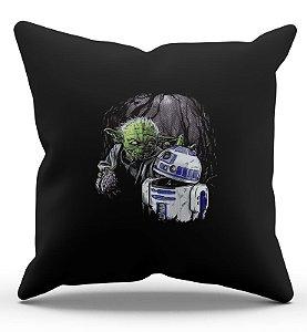 Almofada Yoda e R2-D2 45x45