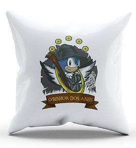 Almofada Decorativa  Sonic 45x45 - Nerd e Geek - Presentes Criativos