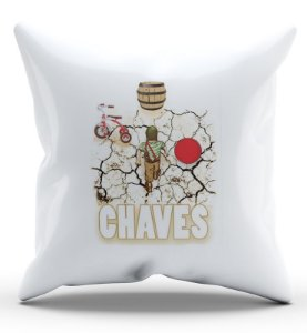 Almofada Decorativa  Chaves 45x45 - Nerd e Geek - Presentes Criativos