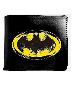 Carteira Batman Simbolo - Nerd e Geek - Presentes Criativos
