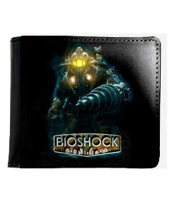 Carteira Bioshock Big Daddy - Nerd e Geek - Presentes Criativos