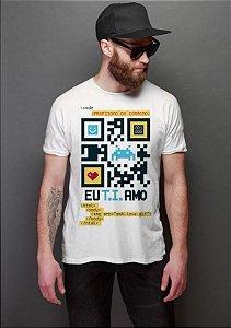 Camiseta Masculina  CODE - Nerd e Geek - Presentes Criativos