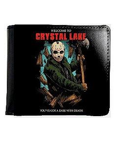 Carteira Jason Crystal Lake - Nerd e Geek - Presentes Criativos