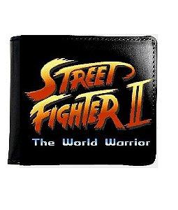 Carteira Street Fighter - Nerd e Geek - Presentes Criativos