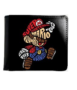 Carteira Super Mario - Nintendo - Nerd e Geek - Presentes Criativos