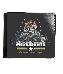 6061aeecd92 Carteira Blanka Presidente - Nerd e Geek - Presentes Criativos