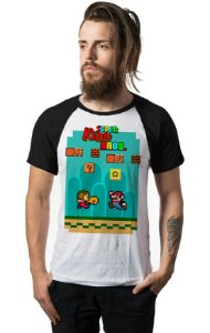 Camiseta Raglan Super Kidd Bros - Nerd e Geek - Presentes Criativos