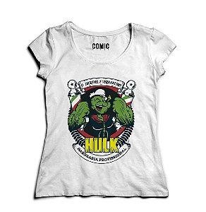 Camiseta Feminina Popeye Hulk